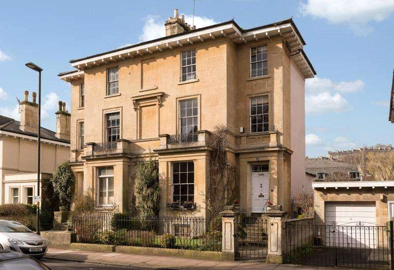 4 Bedrooms Semi Detached House for sale in Henrietta Villas, Henrietta Road, Bath, BA2