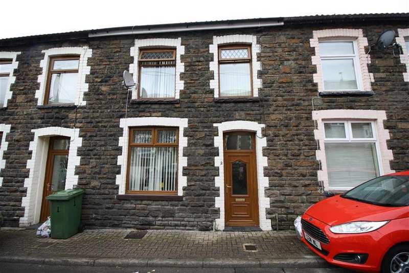 3 Bedrooms Terraced House for sale in Gladstone Street, Miskin, Mountain Ash