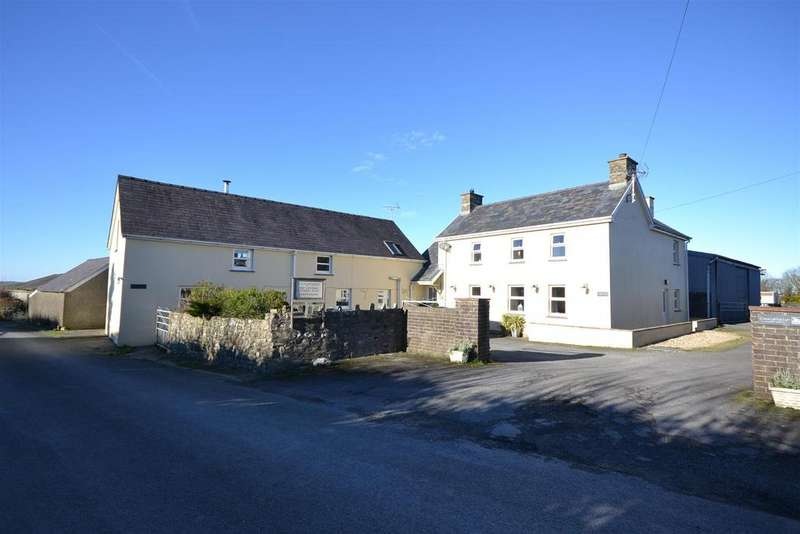 12 Bedrooms Land Commercial for sale in Llangrannog