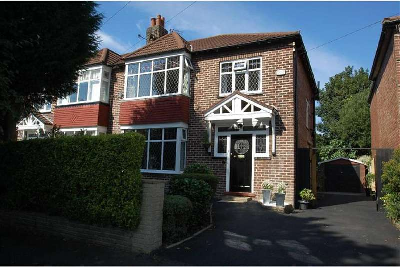 3 Bedrooms Semi Detached House for sale in Abingdon Road, Bramhall, Cheshire