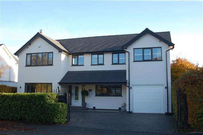 4 Bedrooms Detached House for sale in Ladythorn Grove, Bramhall, Cheshire