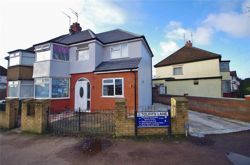 5 Bedrooms Semi Detached House for sale in Tolpits Lane, Watford, Hertfordshire, WD18