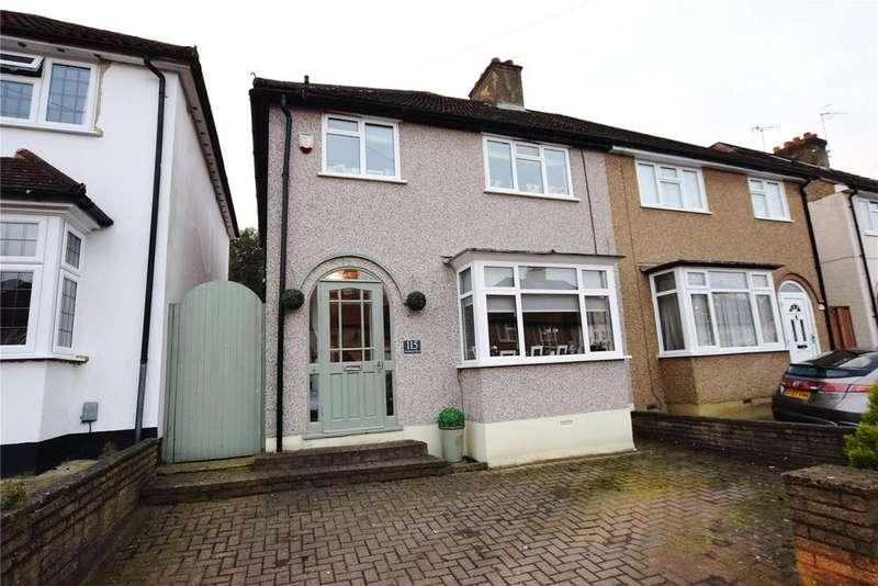 3 Bedrooms Semi Detached House for sale in Melbourne Road, Bushey, Bushey Village, Hertfordshire, WD23