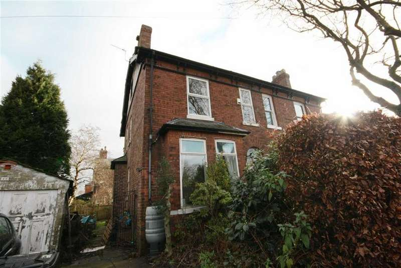 4 Bedrooms Semi Detached House for sale in Barkers Lane, Sale