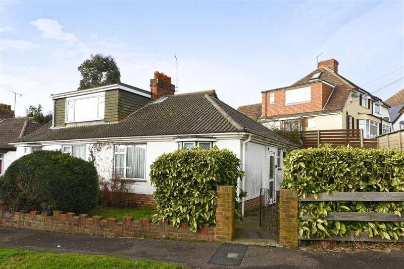 2 Bedrooms Semi Detached Bungalow for sale in Garden Close, Portslade