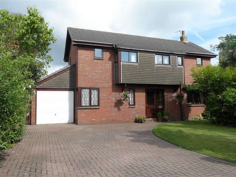 4 Bedrooms Detached House for sale in Rectory Close, Croston, PR26