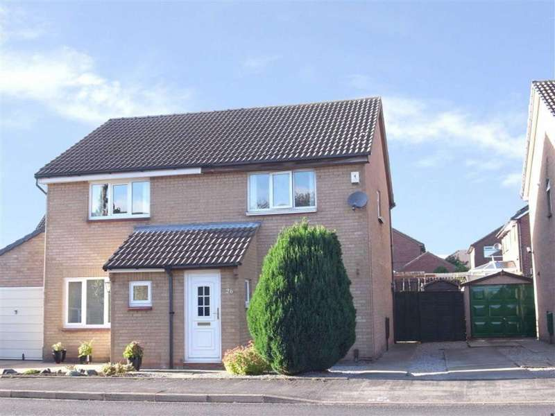 2 Bedrooms Semi Detached House for sale in Rochester Way, Darlington