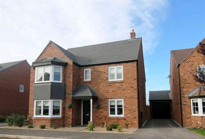 5 Bedrooms Detached House for sale in Green Howards Road, Saighton