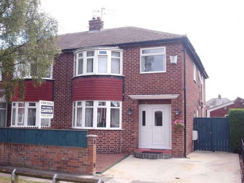 4 Bedrooms Semi Detached House for sale in Hewitson Road, Darlington