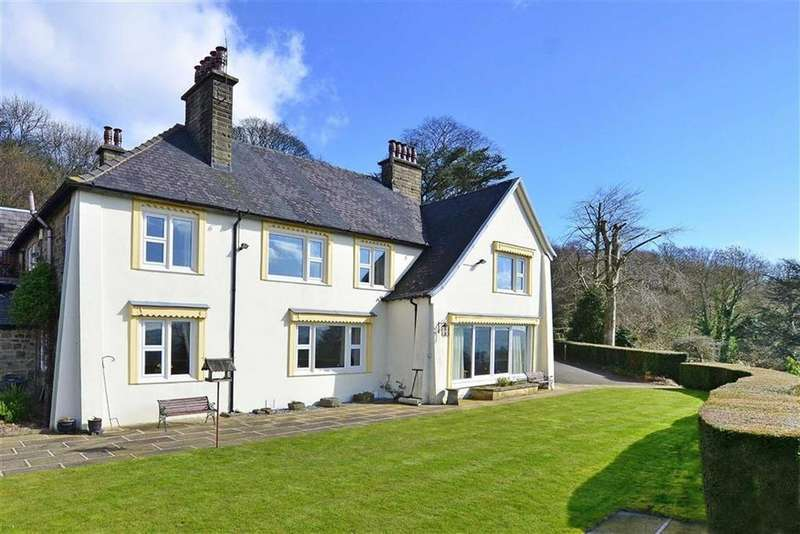 5 Bedrooms Detached House for sale in The Winnatts, Long Hill, Darley Hillside, Matlock, Derbyshire, DE4