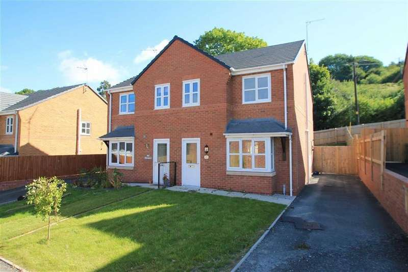 3 Bedrooms Semi Detached House for sale in Nant Court, Brymbo, Wrexham