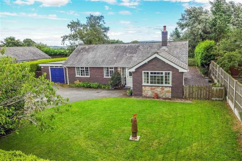 3 Bedrooms Detached Bungalow for sale in Clawddnewydd, Ruthin