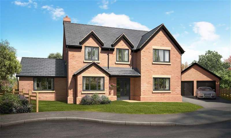 5 Bedrooms Detached House for sale in Cwrt Arthur, Rhewl, Ruthin