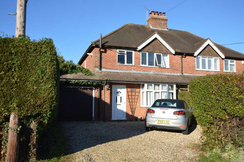 3 Bedrooms Semi Detached House for sale in Gaston Villas, Firs End, Burghfield Common, Reading, RG7