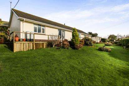 5 Bedrooms Bungalow for sale in Tywardreath, Par, Cornwall