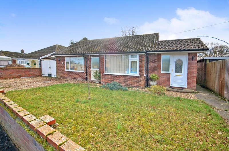 3 Bedrooms Detached Bungalow for sale in Hereward Way, Weeting