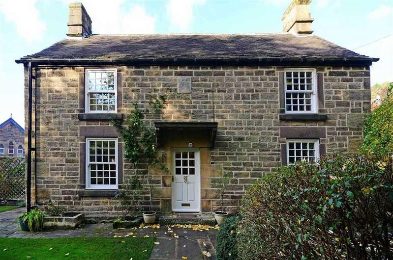 4 Bedrooms Detached House for sale in Oak Cottage, Moor Lane, Darley Dale, Matlock, Derbyshire, DE4
