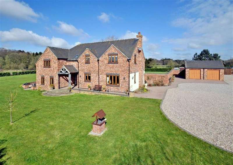 5 Bedrooms Detached House for sale in The Old Pump House, Bennetts Lane, Pattingham, Wolverhampton, South Staffordshire, WV6