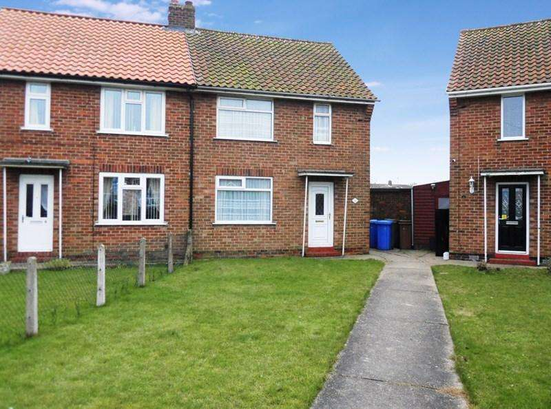 2 Bedrooms Semi Detached House for sale in Hales Crescent, Hedon, Hull