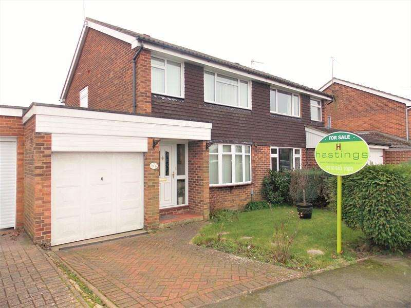 3 Bedrooms Semi Detached House for sale in Walnut Way, Tilehurst, Reading