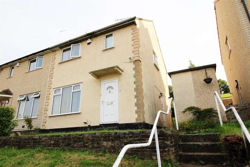 2 Bedrooms Semi Detached House for sale in Hawthorn Drive, Bradford, BD10 9BP
