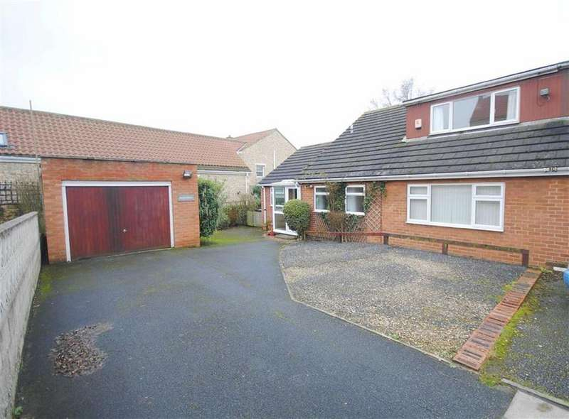 3 Bedrooms Semi Detached Bungalow for sale in Cut Road, Fairburn, Knottingly, WF11