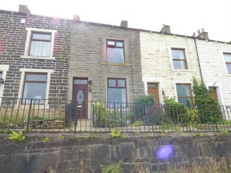 2 Bedrooms Terraced House for sale in Prospect Terrace, Stacksteads, Bacup, Lancashire, OL13