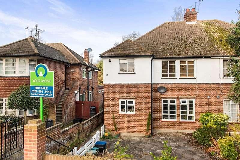 2 Bedrooms Flat for sale in Belmont Road, Twickenham, TW2