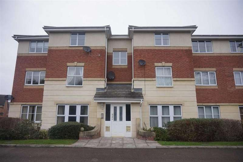 2 Bedrooms Flat for rent in Broadmeadows Close, Swalwell