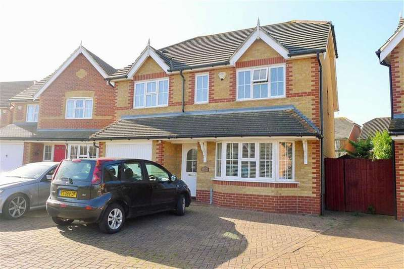 4 Bedrooms Detached House for sale in Homefield Drive, Rainham, Kent, ME8