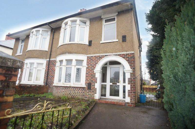 3 Bedrooms Semi Detached House for sale in Manor Way, Whitchurch, Cardiff. CF14 1RA