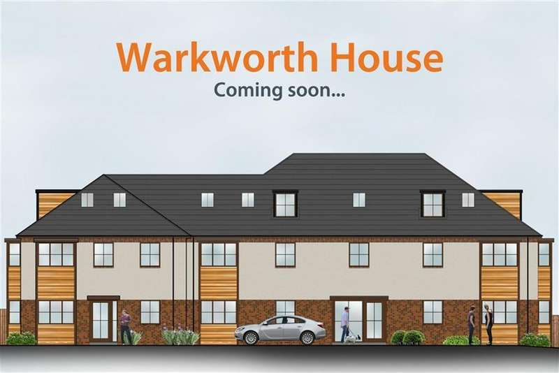 2 Bedrooms Flat for sale in Warkworth House, Newcastle Upon Tyne, NE13