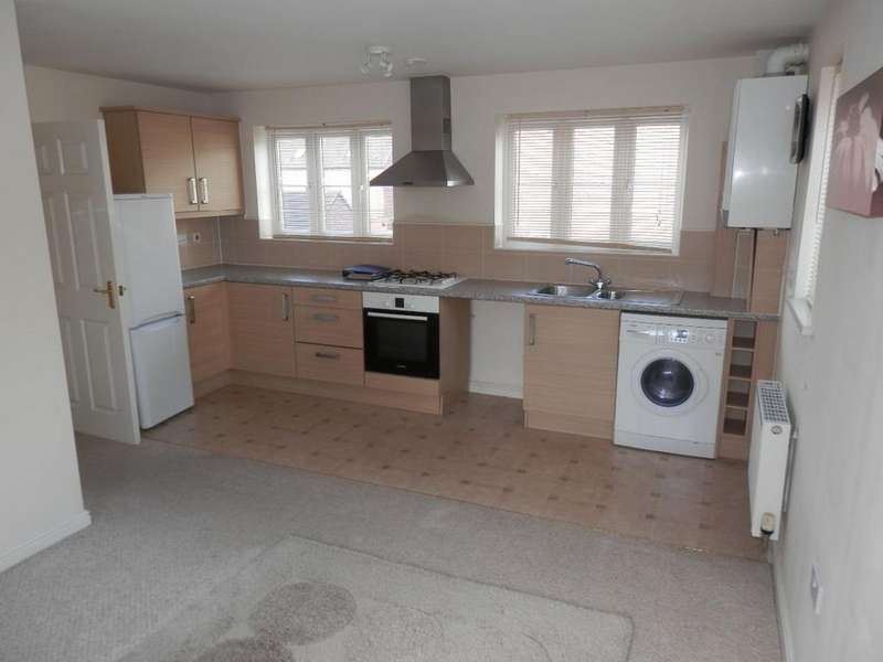 2 Bedrooms Flat for sale in Blaen Bran Close, Pontnewydd