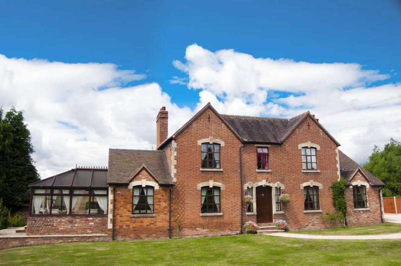 4 Bedrooms Detached House for sale in Newnham Bridge, Tenbury Wells, Worcestershire