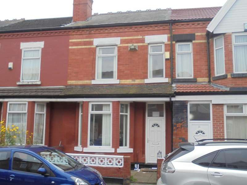 3 Bedrooms Terraced House for sale in Reynell Road, Manchester, M13