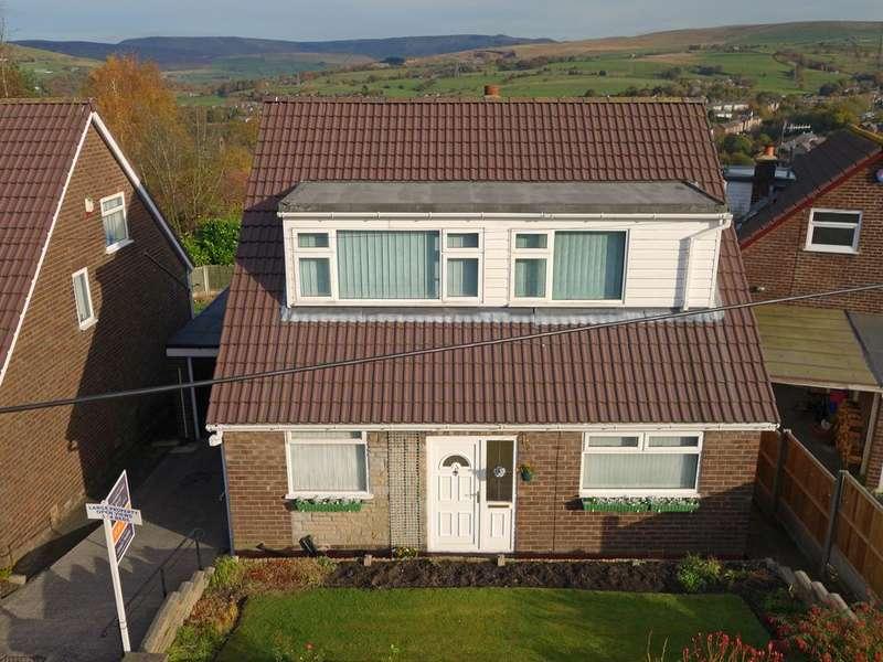 4 Bedrooms Detached House for sale in Godward Road, New Mills, High Peak, Derbyshire, SK22 3BU