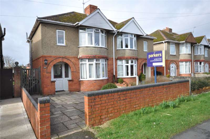 3 Bedrooms Semi Detached House for sale in Church Walk North, Swindon, Wiltshire, SN25