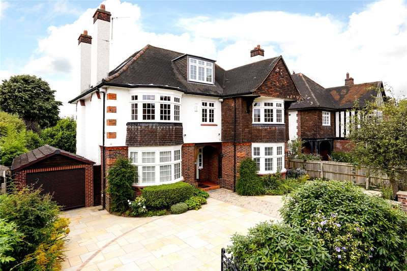 5 Bedrooms Detached House for sale in Highdown Road, London, SW15