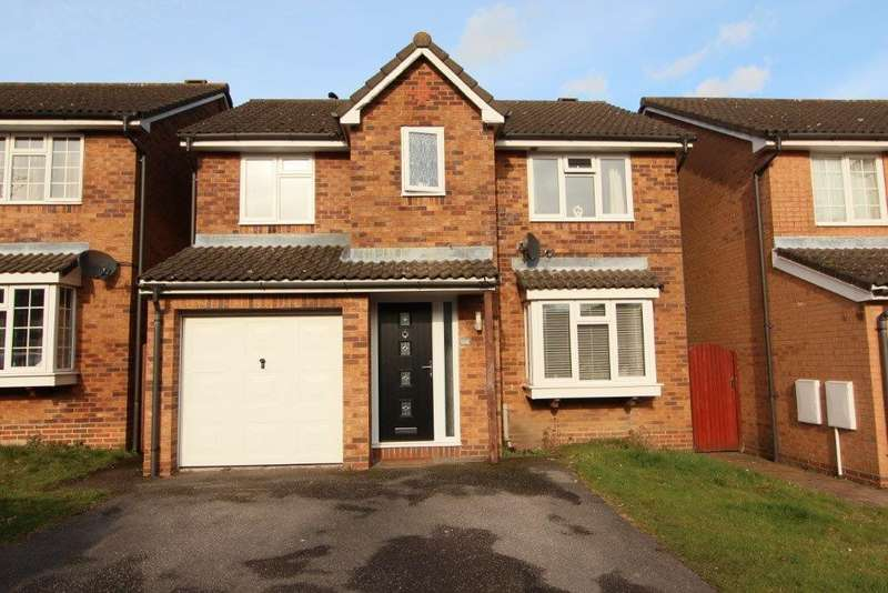 4 Bedrooms Detached House for sale in Stirling Crescent, Grange Park SO30