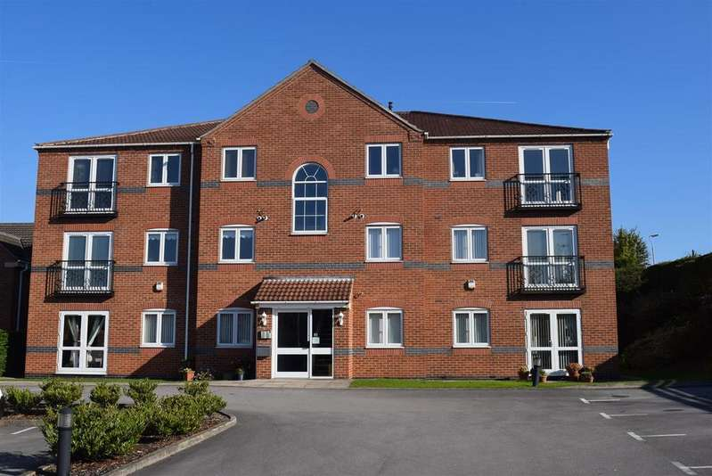 2 Bedrooms Apartment Flat for sale in Cockle Close, Mansfield