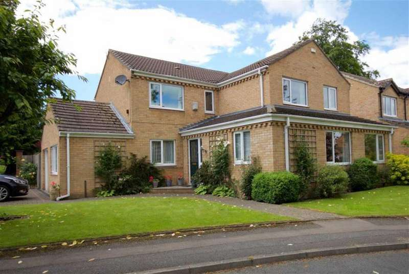 4 Bedrooms Detached House for sale in Whitemeadows, Darlington