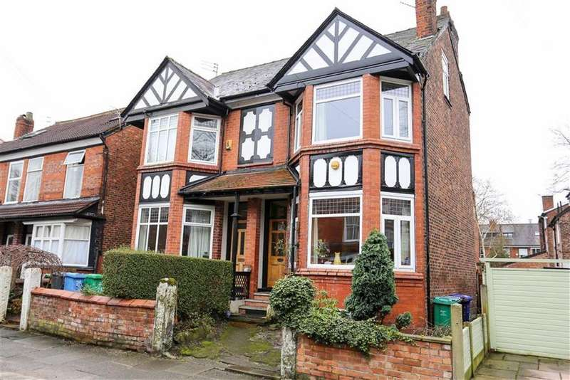 5 Bedrooms Semi Detached House for sale in Hesketh Avenue, Didsbury, Manchester