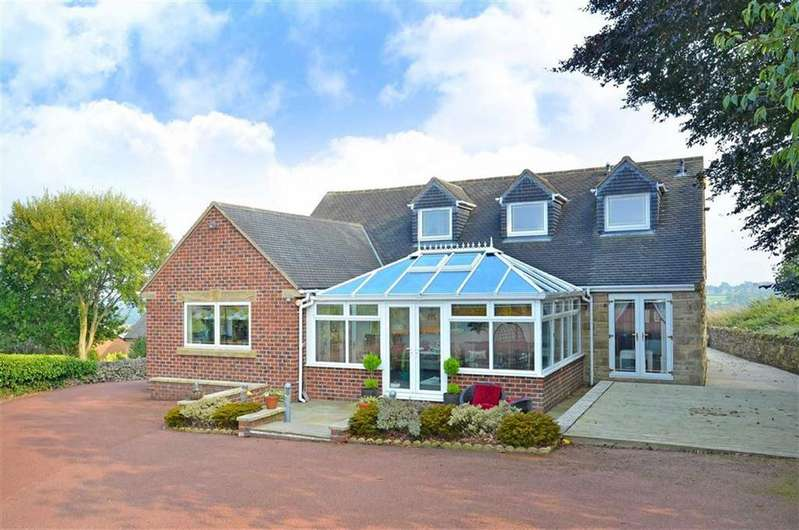 4 Bedrooms Detached Bungalow for sale in Rock Bank, Wilkin Hill, Barlow, Dronfield, Derbyshire, S18