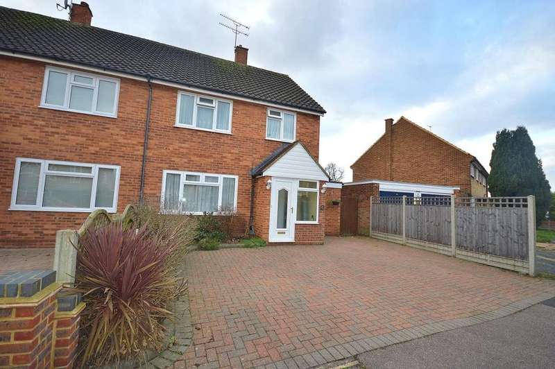 3 Bedrooms Semi Detached House for sale in Leveret Close, Garston, Hertfordshire, WD25