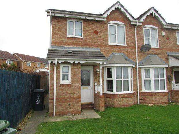 3 Bedrooms Semi Detached House for sale in WHIN MEADOWS, VICTORIA GARDENS, HARTLEPOOL