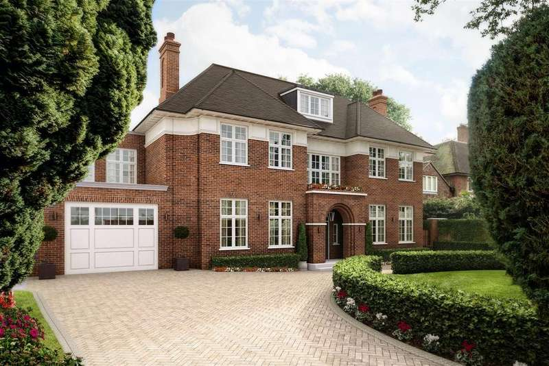6 Bedrooms Detached House for sale in Compton House, Compton Avenue, N6