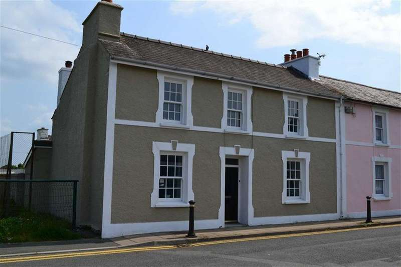 4 Bedrooms Semi Detached House for sale in Regent Street, Aberaeron, Ceredigion