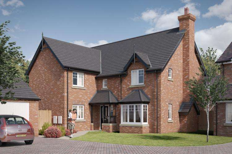 4 Bedrooms Detached House for sale in Plot 17, Tibberton, Belvidere Park, Belvidere, Shrewsbury, SY2 5LW