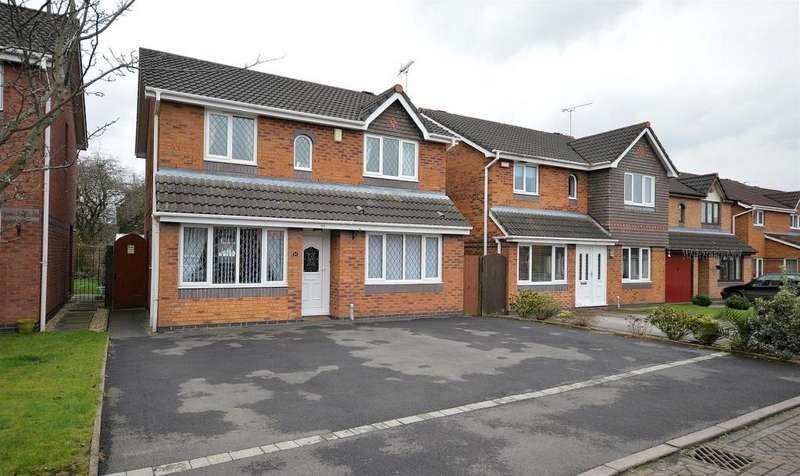 3 Bedrooms Detached House for sale in Arley Walk, Ettiley Heath