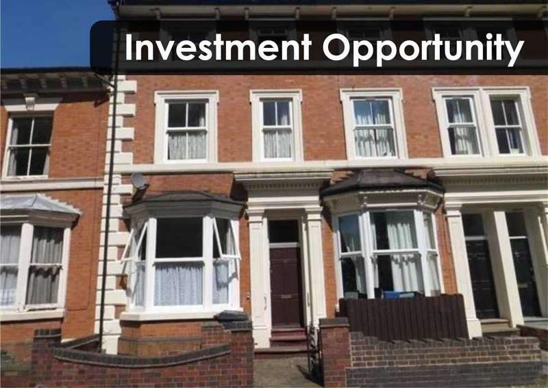 4 Bedrooms Terraced House for sale in Lancaster Road, Leicester